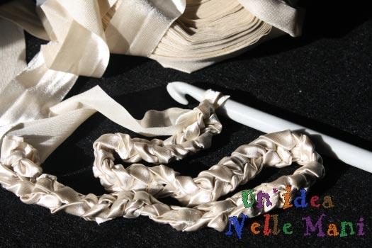 maglia catenella rinnovare le scarpe refashion shoes