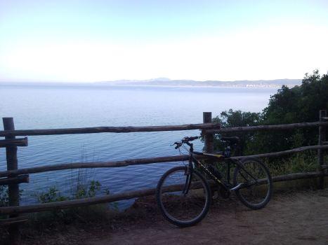 alba e bici