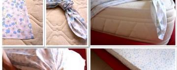 Come fare gli angoli alle lenzuola senza cucire