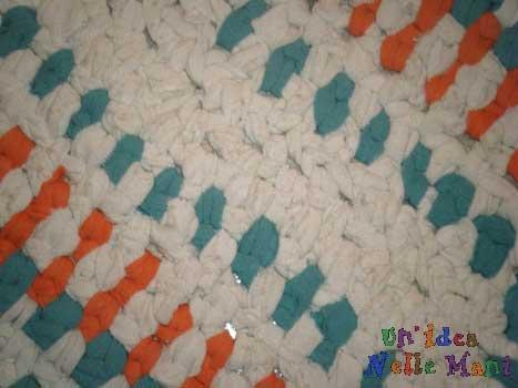 tappeto a crochet