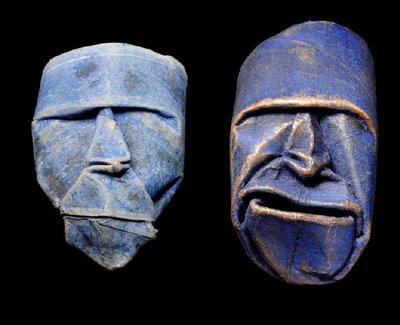 maschere artistiche, riciclo rotoli di carta igenica, rotoli cartone, riciclo