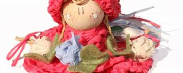 Bomboniere Fai Da Te all'Uncinetto per Comunione: le Bamboli...