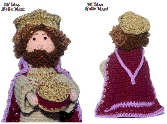 amigurumi personaggi del presepe nativity