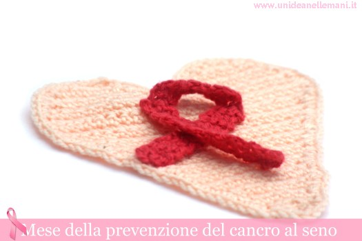 cuore all'uncinetto,