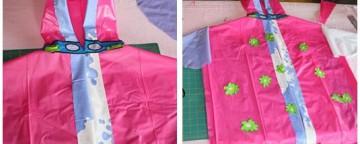 riciclo creativo, impermeabile fai da te, riciclare un materassino
