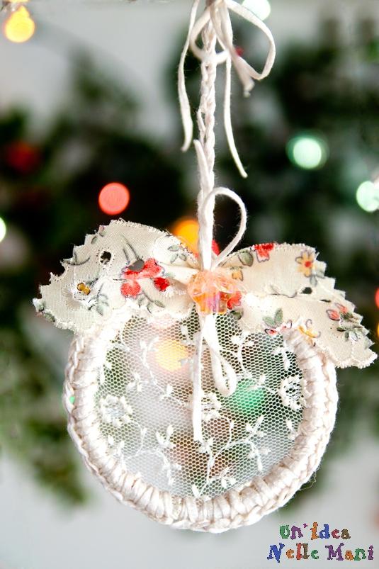 Lavoretti Natale 2010 fatti a mano, decorazioni fai da te, riciclo, uncinetto
