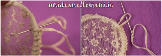 I sospiri di una farfalla idea con l 39 ago da lana per le - Decorazioni natalizie fatte a mano per bambini ...