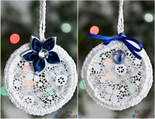 Molto Addobbi di Natale: decorazioni eco-chic fai da te RD63