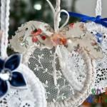 Addobbi di Natale: decorazioni eco-chic fai da te