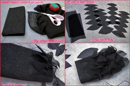 refashion bag, come rinnovare una vecchia borsa per capodanno