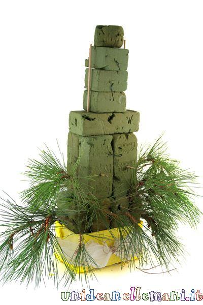 come fare un albero di natale ecosostenibile originale