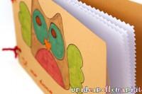 craft, scrap, lavoretti per bambini, diario con il cartoncino
