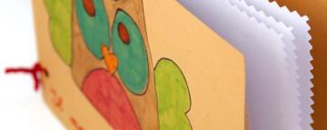 Lavoretti dei bambini con la carta: un piccolo diario a sorp...