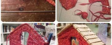 Natale e riciclo creativo: le foto di come nasce un presepe
