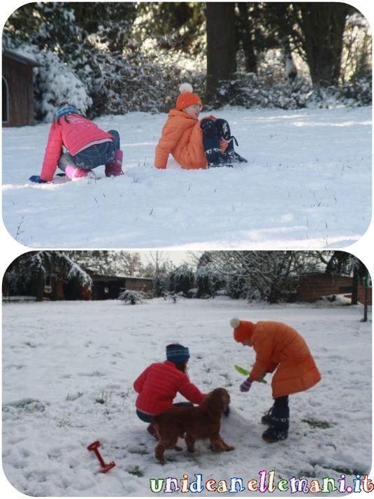 neve e bambini: giochi sulla neve