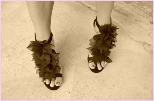 rinnovare scarpe e borsa, shoes and bag refashion, per capodanno