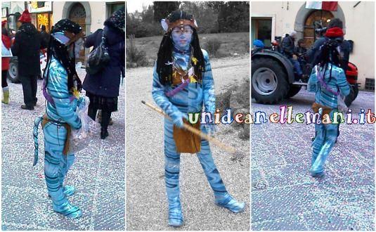 come fare il costume da avatar fai da te per carnevale
