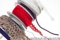 come tenere in ordine filati, bobine per nastri, avvolgere filati, avanzi di fili