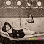 Idee vintage: le lampade abbronzanti degli anni '60