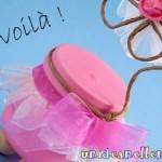 Riciclo creativo: le bomboniere con i vasetti di vetro e i p...