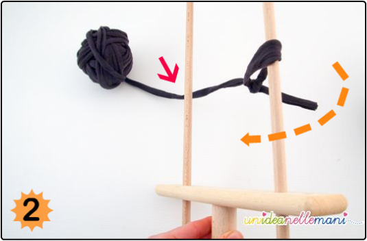 uncinetto a forcella, come usare la forcella, ucinetto, hairpin lace crochet, forcella