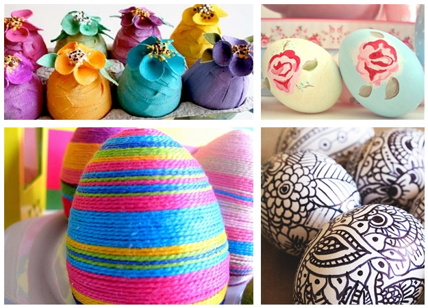 Uova di pasqua fai da te 10 coloratissime idee per - Idee per decorare le uova di pasqua ...