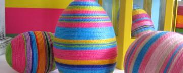 Uova di Pasqua fai da te: 10 (+1) coloratissime idee per dec...