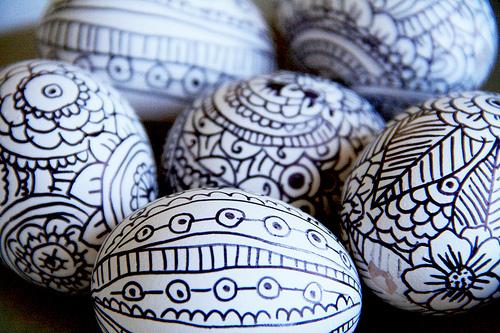 uova di pasqua, decorazioni, pasqua, uova di pasqua decorate, disegni pennarello,