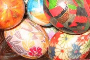 uova di pasqua, decorazioni, pasqua, uova di pasqua decorate, craft, decorazioni, striscie di carta