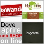 dove aprire shop on line