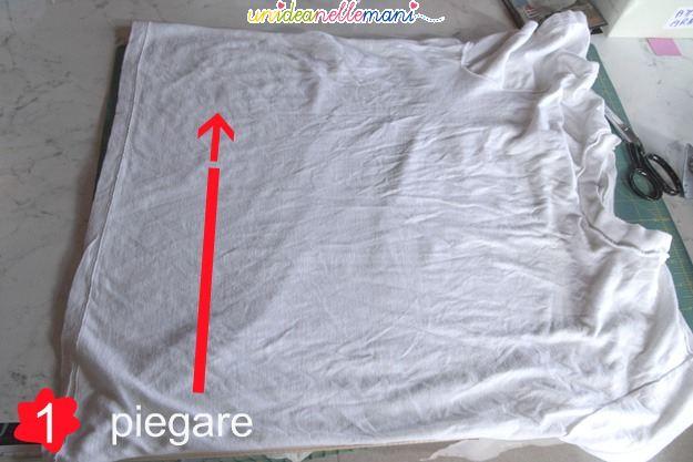 fettuccia, riciclo t-shirt, riciclare magliette, ricavare filato, ricavare fettuccia, vecchie magliette