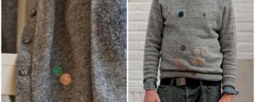 Idee furbe: come rattoppare i buchi nei maglioni con il Wool...