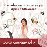 buttonmad, bottoni in ceramica, bottoni dipinti, bottoni fatti a mano