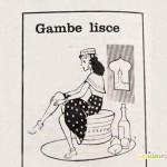depilazione gambe, anni 60, domenica del corriere, vintage