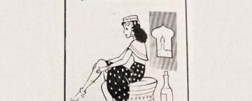 Gambe lisce e depilate: un sistema fai da te molto vintage