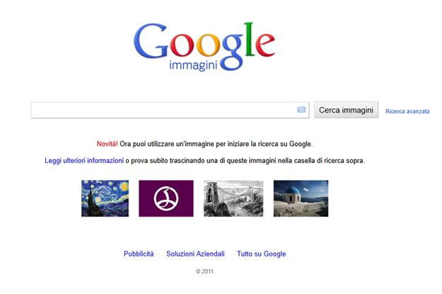 google immagini e copyright