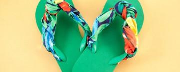 Flip-Flops fai da te: come personalizzare un paio di infradi...