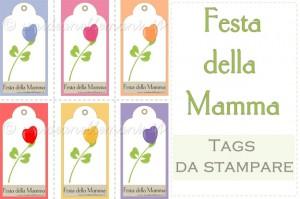 biglietti auguri festa della mamma, biglietti da stampare festa della mamma, gift tags da stampare, festa della mamma