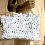 borsa in fettuccia, borse fettuccia, borse all'uncinetto, bag crochet,