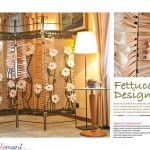 Home Decor Milleidee: il paravento all'uncinetto con la fett...