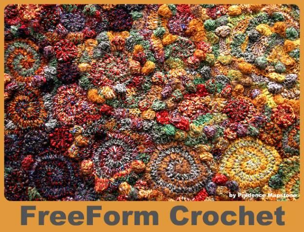 freeform, crochet, uncinetto, riciclo, avanzi di lana,