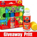 Giveaway Pritt: in regalo i divertenti Paint Ball e il kit d...