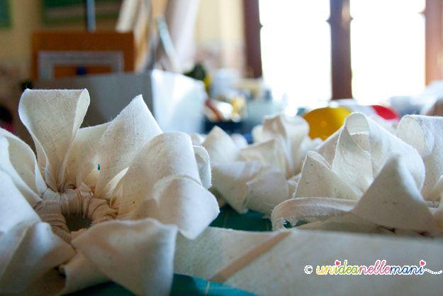 fiori all'uncinetto,