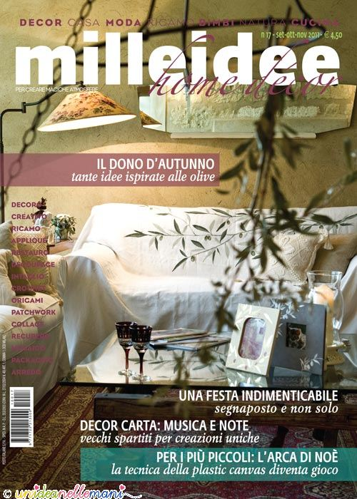 Home decor milleidee il paravento all 39 uncinetto con la for Art e decoration rivista