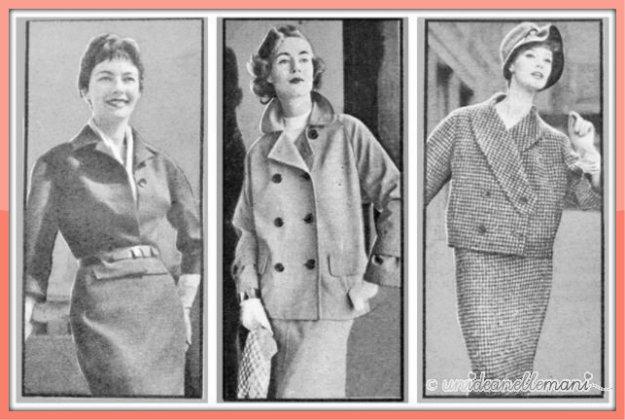 tailleur anni 60, modello tailleur, tailleur vintage