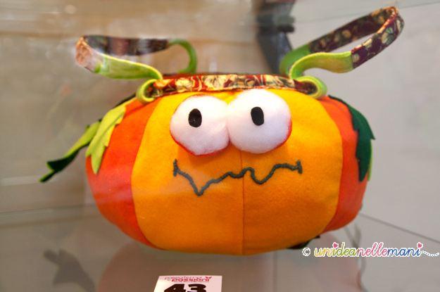 zucca di halloween fai da te,