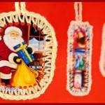 Addobbi fai da te per l'albero di Natale: le cartoline da ap...
