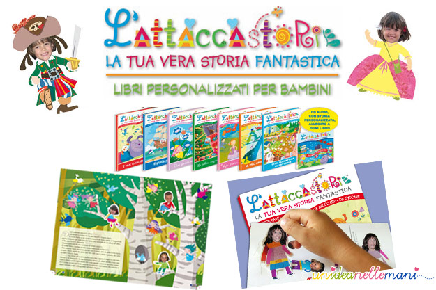 scelta maculata, libro-gioco per bambini, stickers personalizzati,