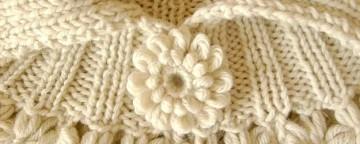 Il coprispalle di lana fai da te con il telaio stecca: ecco ...