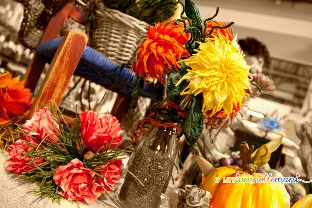 fiori di carta, filo finlandese, pirkka, twistart,